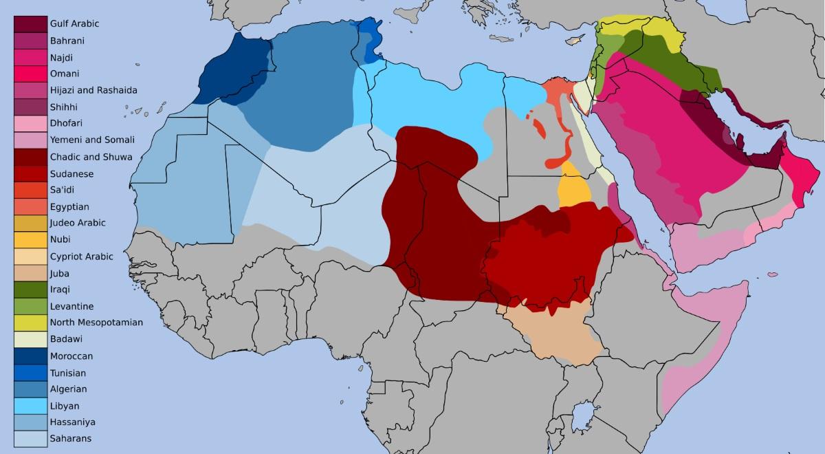 L'arabe dialectal dans le monde